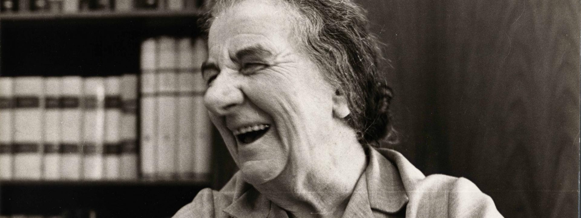 GOLDA MEIR,  A WOMAN AT THE FOREFRONT