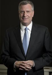 WHO ARE YOU BILL DE BLASIO, MAYOR OF NEW-YORK