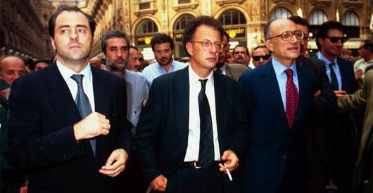 1992, OPERATION MAINS PROPRES SUR L'ITALIE