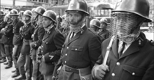 MAI 68: DANS L'OEIL DE LA POLICE