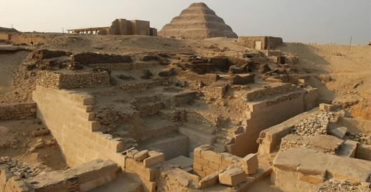 THE MYSTERIES OF SAQQARA