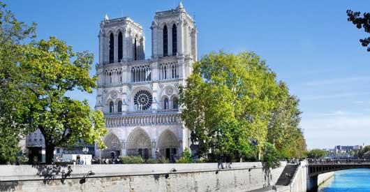 AT HEART OF NOTRE-DAME