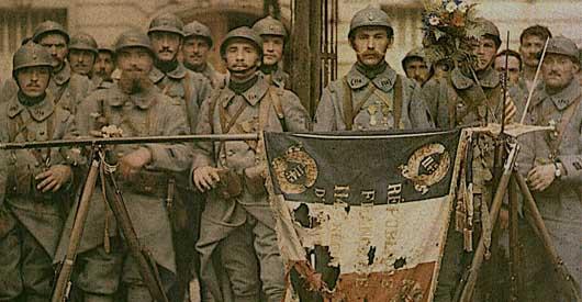 WORLD WAR I ON THE MICROSCOPE