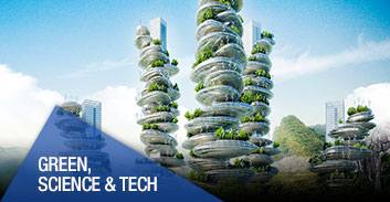 Green, Science, Health & Tech